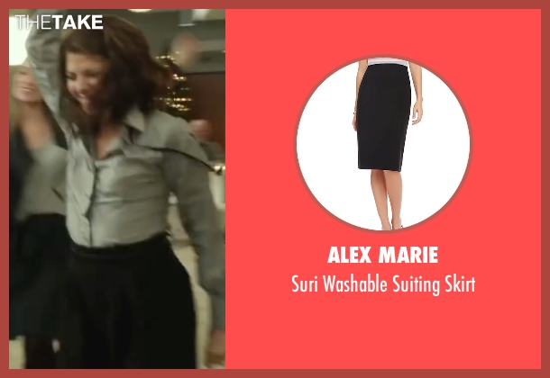 Alex Marie black skirt from Love the Coopers seen with Marisa Tomei (Emma)