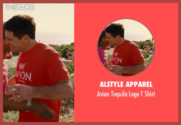 Alstyle Apparel red shirt from Entourage seen with Mark Cuban (Unknown Character)