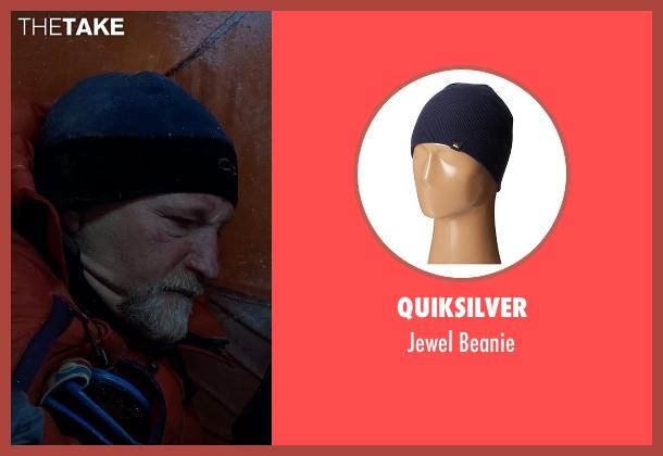 Quiksilver blue beanie from Everest seen with Mark Derwin (Lou Kasischke)