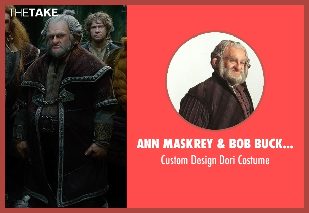 Ann Maskrey & Bob Buck (Costume Designer) costume from The Hobbit: The Battle of The Five Armies seen with Mark Hadlow (Dori)