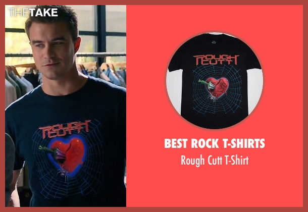 Best Rock T-Shirts black t-shirt from Mistresses seen with Mark (Rob Mayes)