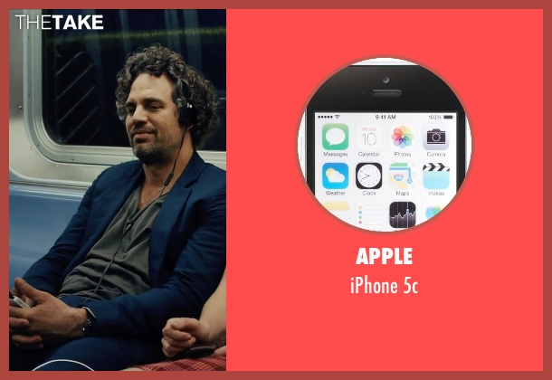Apple 5c from Begin Again seen with Mark Ruffalo (Dan)