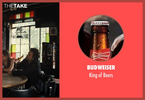 Budweiser beers from Begin Again seen with Mark Ruffalo (Dan)