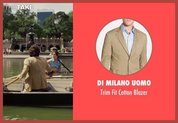 Di Milano Uomo beige blazer from Begin Again seen with Mark Ruffalo (Dan)