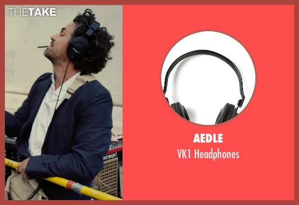 Aedle black headphones from Begin Again seen with Mark Ruffalo (Dan)