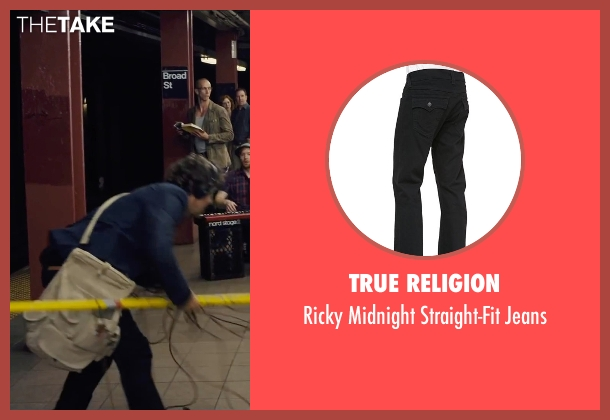 True Religion black jeans from Begin Again seen with Mark Ruffalo (Dan)