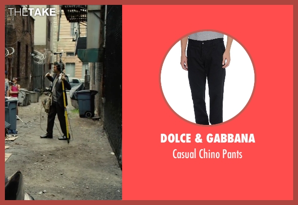 Dolce & Gabbana black pants from Begin Again seen with Mark Ruffalo (Dan)