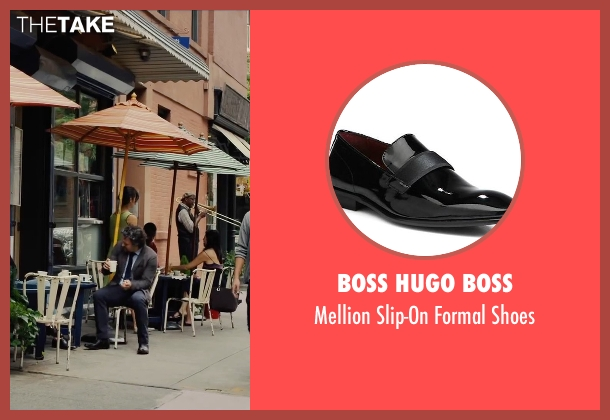 Boss Hugo Boss black shoes from Begin Again seen with Mark Ruffalo (Dan)