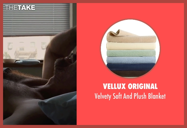 Vellux Original blanket from Begin Again seen with Mark Ruffalo (Dan)