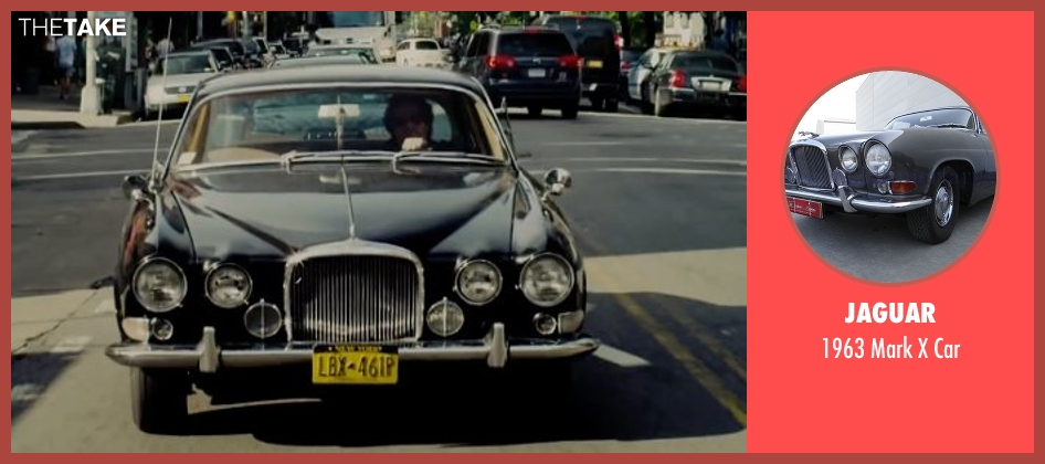 Jaguar car from Begin Again seen with Mark Ruffalo (Dan)