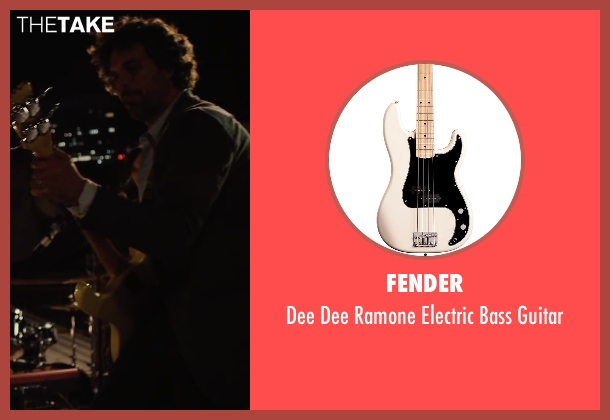 Fender guitar from Begin Again seen with Mark Ruffalo (Dan)