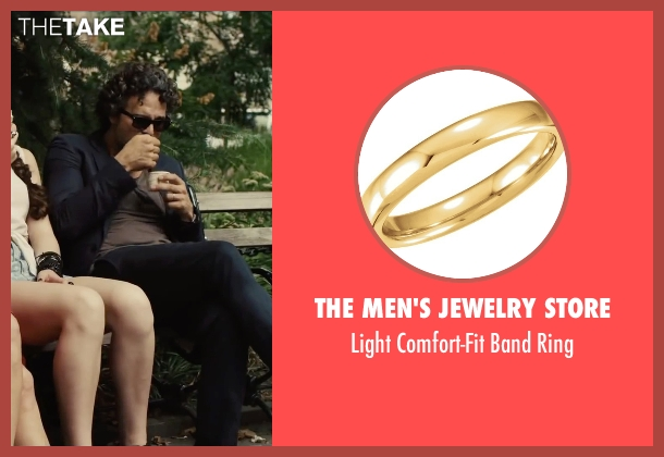 The Men's Jewelry Store ring from Begin Again seen with Mark Ruffalo (Dan)