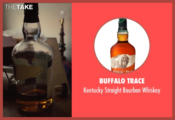 Buffalo Trace whiskey from Begin Again seen with Mark Ruffalo (Dan)