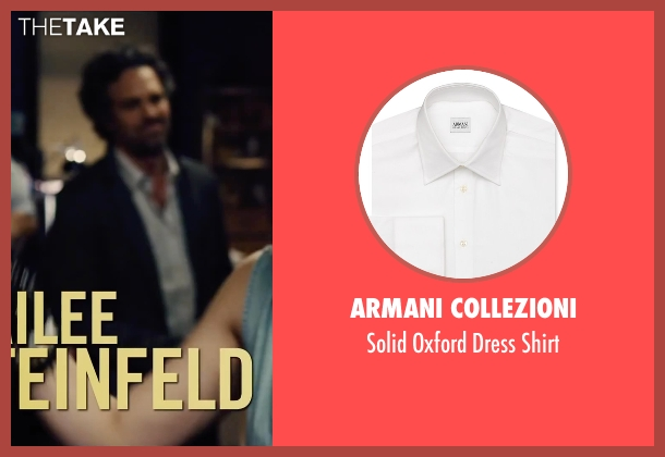 Armani Collezioni white shirt from Begin Again seen with Mark Ruffalo (Dan)