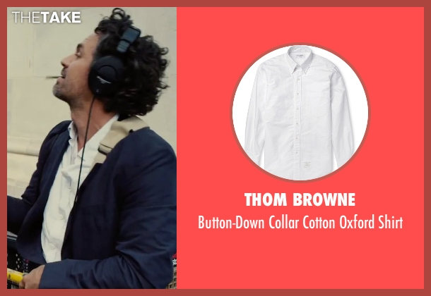 Thom Browne white shirt from Begin Again seen with Mark Ruffalo (Dan)