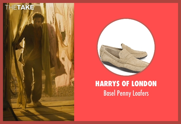 Harrys of London beige loafers from Marvel's The Avengers seen with Mark Ruffalo (Bruce Banner / The Hulk)