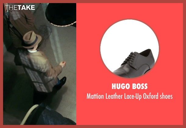 Hugo Boss black shoes from Shutter Island seen with Mark Ruffalo (Chuck Aule)
