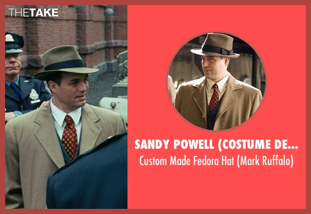Sandy Powell (Costume Designer) brown hat from Shutter Island seen with Mark Ruffalo (Chuck Aule)