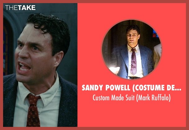 Sandy Powell (Costume Designer) gray suit from Shutter Island seen with Mark Ruffalo (Chuck Aule)