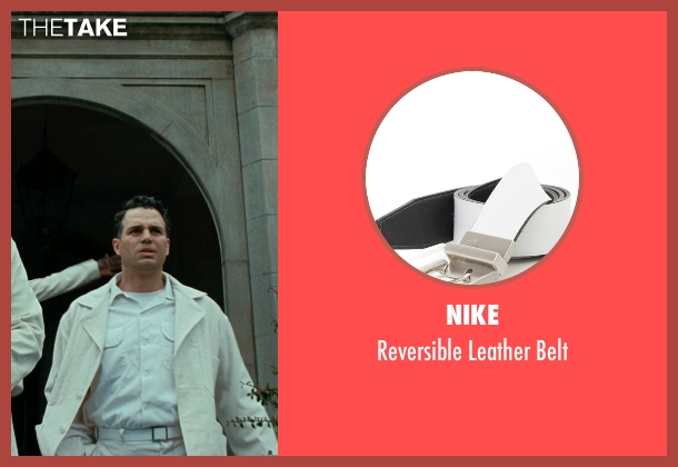 Nike white belt from Shutter Island seen with Mark Ruffalo (Chuck Aule)