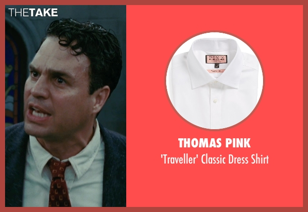Thomas Pink white shirt from Shutter Island seen with Mark Ruffalo (Chuck Aule)