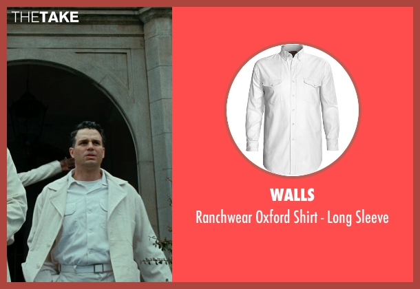 Walls white sleeve from Shutter Island seen with Mark Ruffalo (Chuck Aule)
