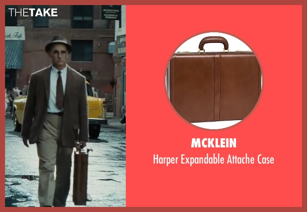 McKlein brown case from Bridge of Spies seen with Mark Rylance (Rudolf Abel)
