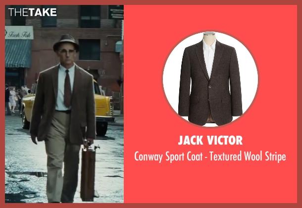 Jack Victor brown stripe from Bridge of Spies seen with Mark Rylance (Rudolf Abel)