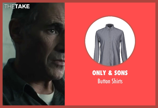 Only & Sons gray shirts from Bridge of Spies seen with Mark Rylance (Rudolf Abel)
