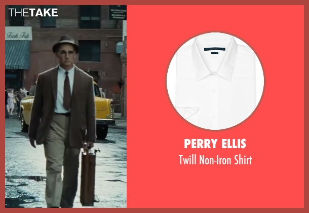 Perry Ellis white shirt from Bridge of Spies seen with Mark Rylance (Rudolf Abel)