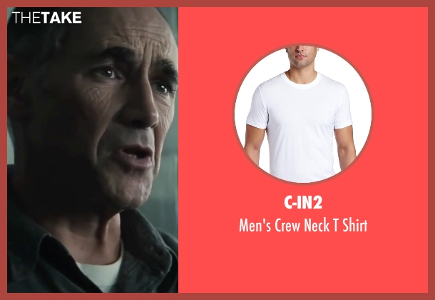 C-in2 white shirt from Bridge of Spies seen with Mark Rylance (Rudolf Abel)