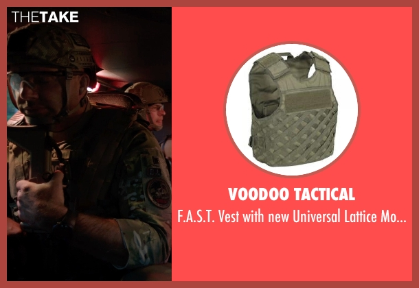 Voodoo Tactical molle from Sabotage seen with Mark Schlegel ('Smoke' Jennings)