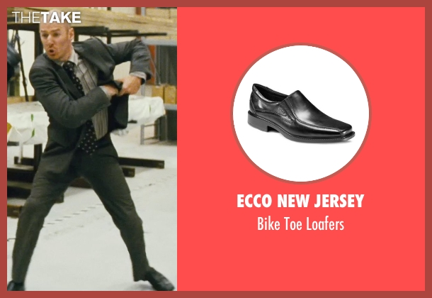 Ecco New Jersey black loafers from Kick-Ass seen with Mark Strong (Frank D'Amico)