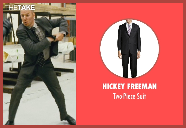Hickey Freeman black suit from Kick-Ass seen with Mark Strong (Frank D'Amico)