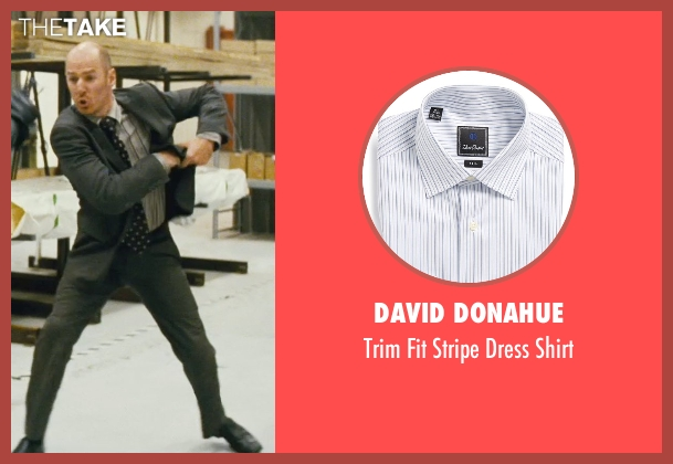 David Donahue gray shirt from Kick-Ass seen with Mark Strong (Frank D'Amico)