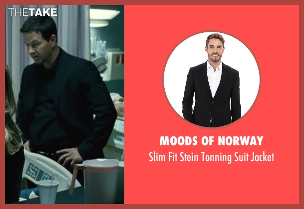 Moods of Norway black jacket from Contraband seen with Mark Wahlberg (Chris Farraday)