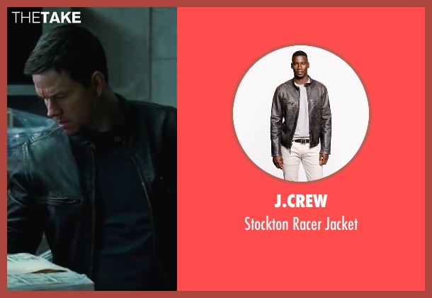 J.Crew black jacket from Contraband seen with Mark Wahlberg (Chris Farraday)