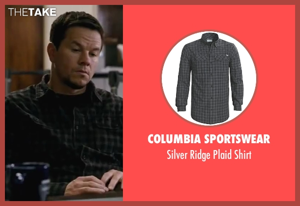 Columbia Sportswear black shirt from Contraband seen with Mark Wahlberg (Chris Farraday)