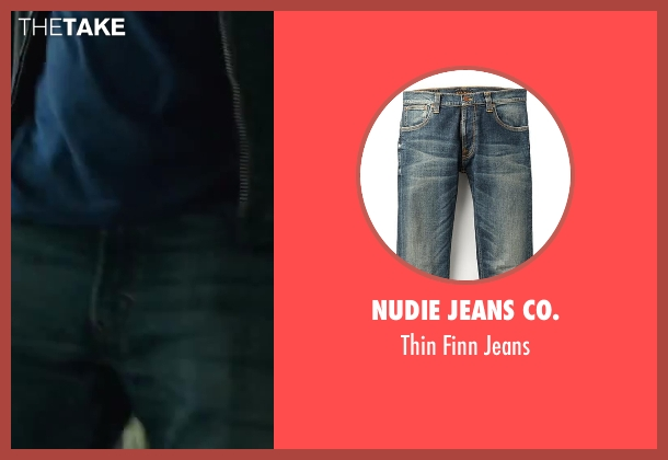 Nudie Jeans Co. blue jeans from Contraband seen with Mark Wahlberg (Chris Farraday)