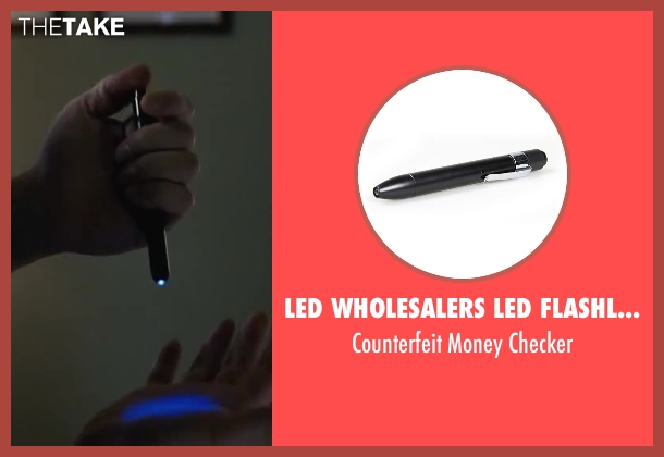 LED Wholesalers LED Flashlights checker from Contraband seen with Mark Wahlberg (Chris Farraday)