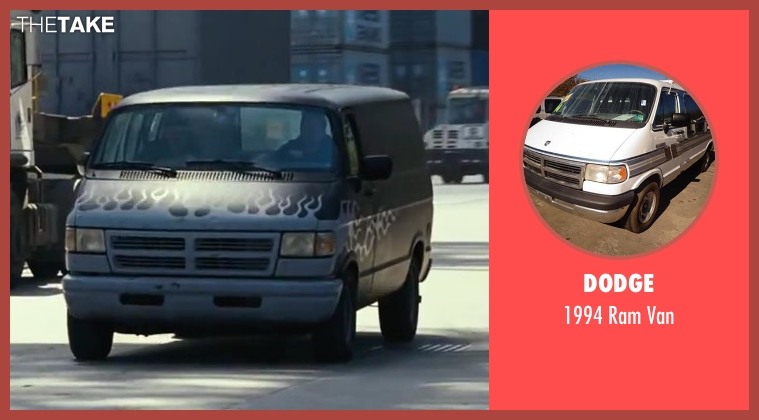 Dodge van from Contraband seen with Mark Wahlberg (Chris Farraday)