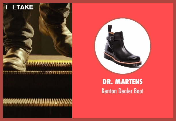 Dr. Martens black boot from Daddy's Home seen with Mark Wahlberg (Dusty Mayron)
