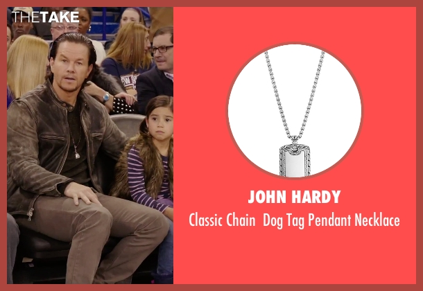 John Hardy silver necklace from Daddy's Home seen with Mark Wahlberg (Dusty Mayron)
