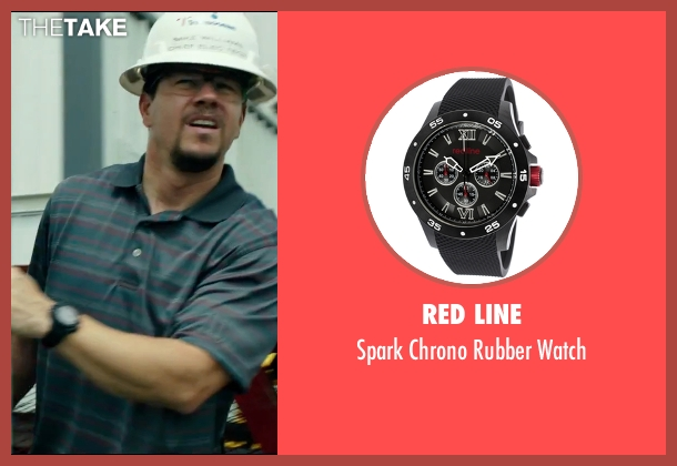 Red Line black watch from Deepwater Horizon seen with Mark Wahlberg (Mike Williams)