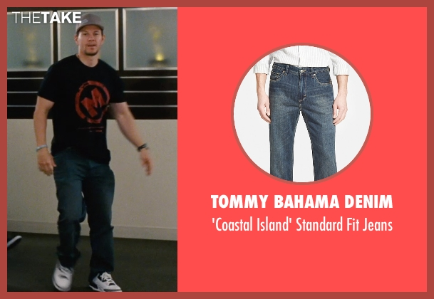 Tommy Bahama Denim blue jeans from Entourage seen with Mark Wahlberg