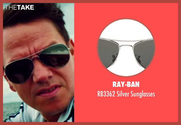Ray-Ban black sunglasses from Pain & Gain seen with Mark Wahlberg (Daniel Lugo)