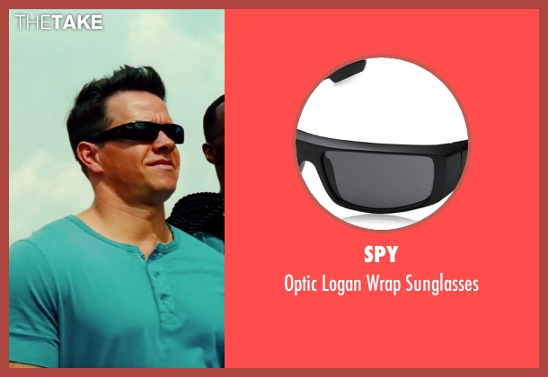 Spy black sunglasses from Pain & Gain seen with Mark Wahlberg (Daniel Lugo)