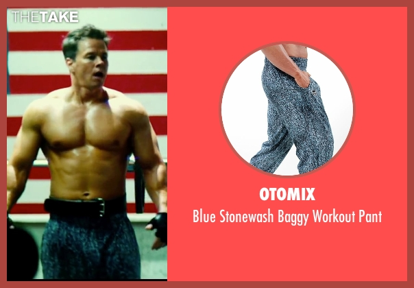 Otomix blue pant from Pain & Gain seen with Mark Wahlberg (Daniel Lugo)
