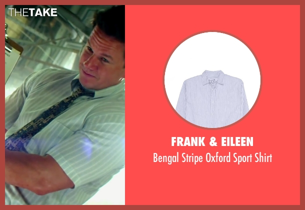 Frank & Eileen gray shirt from Pain & Gain seen with Mark Wahlberg (Daniel Lugo)