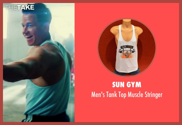 Sun Gym stringer from Pain & Gain seen with Mark Wahlberg (Daniel Lugo)
